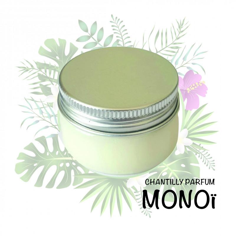 Crème chantilly senteur Monoï