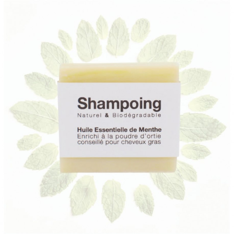 Shampoing solide senteur menthe