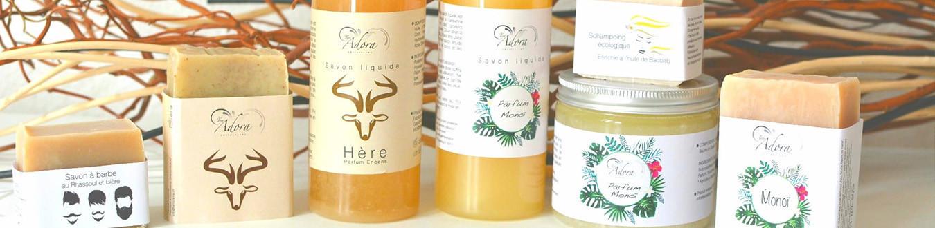 Notre gamme de produits cosmétiques naturels